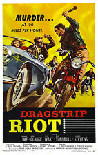 Dragstrip Riot - 1958 - Movie Poster