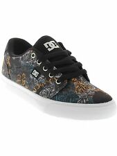 DC Black Print Anvil Special Print Womens Low Top Shoe