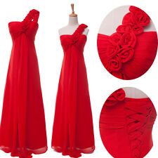 FEB CHEAP Long Wedding Party Dress Bridesmaids Gowns Evening Prom Formal Dresses