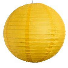 """Yellow Paper Party Wedding Lanterns - 12"""", 16"""" and 20"""" sizes"""