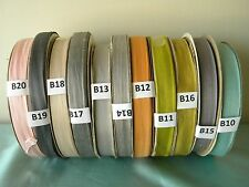 "5~10 yards Rayon Seam Binding,Woven Edge 1/2"" inch Variaty of Colors~(Clearance)"