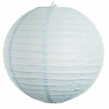 """Ice Blue Paper Party Wedding Lanterns - 12"""", 16"""" and 20"""" sizes"""