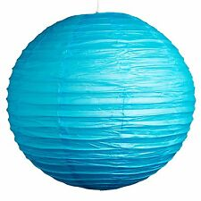 """Sky Blue Paper Party Wedding Lanterns - 12"""", 16"""" and 20"""" sizes"""