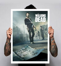Le walking dead Poster Image 3 zombies tv show comic Rick Daryl 180gm A1-3 nouveau