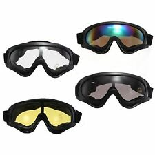 UV400 Bicycle Goggles Cycling Bike Eyewear Sun Glasses Wind Dust Sand Protection