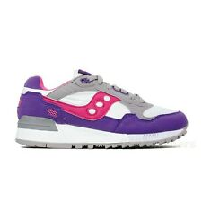 Saucony Shadow 5000 (White/Purple) Grey Women's Shoes S60033-66