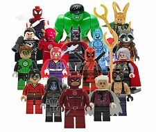 LEGO SUPER HEROES MINIFIGURES & CUSTOM SUPERHERO MINI FIGURES ★ PICK YOUR OWN ★