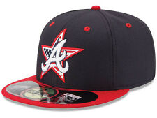 Official MLB 2014 Atlanta Braves July 4th Stars Stripes New Era 59FIFTY Hat