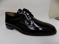 Stacy Adams LEONARDO 23109 Mens Black Patent Oxfords Formal Tuxedo Dress Shoes