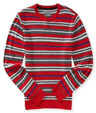 Aeropostale Multi-Stripe Crew Neck Sweater 4814 NWT