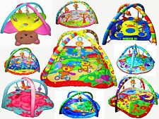 New Baby Play Mat Activity Gym Play Mat with toys