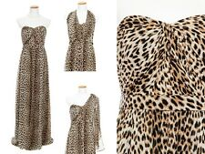 Leopard Prom Dress New Jenny Yoo Sizes 2 4 8 12 Long NWT Aidan $350 Convertible