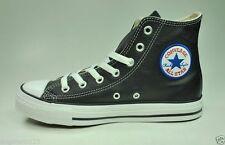 CONVERSE Shoes CT Leather Black Fashion Sneakers Chuck Taylor Women Medium Size