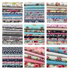 Fabric Remnant Pieces, 100% cotton, off cut, clearance, craft, fat quarter