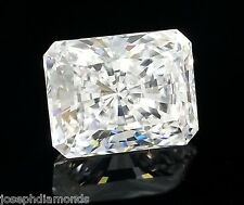 New RADIANT CUT Ex Loose Lannyte Lab Created Diamond D Flawless 1,2,3,4,5 ct