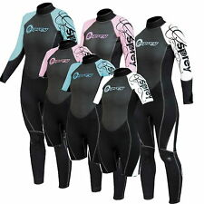 WOMENS 3mm OSPREY OSX WETSUITS FULL LENGTH OR SHORTY SHORTIE  bodyboard kayak