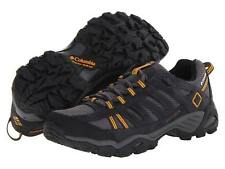 Columbia North Plains Waterproof Hiker Trail Shos Boots Leather Charcoal Hiking