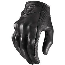 2015 Icon Pursuit Non-Perforated Motorcycle Street Riding Cycle Protection Glove