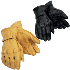 Tour master Deerskin Motorcycle Riding Touring Street Gloves