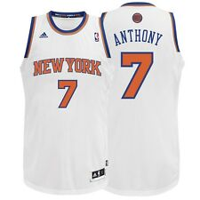 Carmelo Anthony ADIDAS New York Knicks Home (White) REV 30 Swingman Jersey Men's
