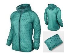 Women's Nike Vapor Cyclone Packable Running Jacket XS SM MED LG 588657 383 $135