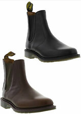 New Dr Martens Victor Brown Mens Leather Chelsea Boots Shoes Size UK 8-11