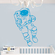 Astronaut Space Man Kids Nursery Wall Art Stickers Decals Vinyl Decor Home Quote