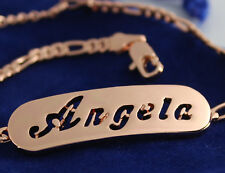 """Bracelet With Name """"ANGELA""""- 18K Gold Plated 