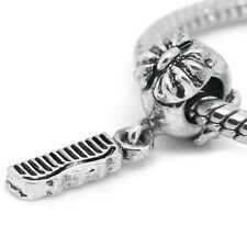 Comb European Charm Bead Dangle Cosmetologist Barber Hair Dresser Student School