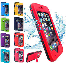Waterproof Red pepper Case Cover Shockproof Dirt Snow Proof For iPhone 6 &6 Plus