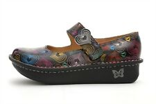 ALEGRIA PALOMA MARY JANE CLOG POP HEARTS SIZE 36 42 NEW IN BOX