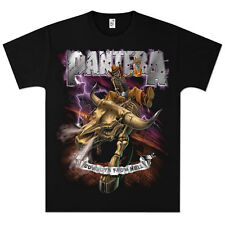 New: PANTERA - Cowboys From Hell Black Concert T-Shirt [X/T]