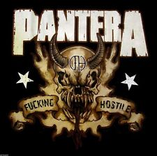 New: PANTERA - F**king Hostile Concert T-Shirt [X]