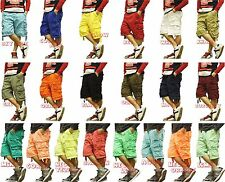Cargo shorts cargo men cargo  short pants 100% Cotton 21 colors Size 30 - 44