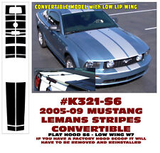 K321 2005-09 MUSTANG LEMANS STRIPES- CONVERTIBLE - LOW WING