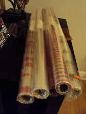 "Krystalphane Cellophane roll 40""x100' assorted styles, gift, easter basket wrap"