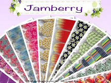 JAMBERRY Nail Wraps  D thru G - Half Sheet -   Fast Shipping  PICK YOUR WRAP
