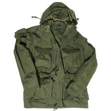Military Tactical Smock Combat Mens Parka Army Patrol Long Jacket Olive OD S-3XL