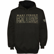 Wake Forest Demon Deacons Knockout Pullover Hoodie - Charcoal - College