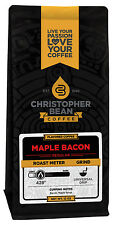 Christopher Bean Coffee MAPLE BACON  Flavored Coffee 1-12-Oz Bag