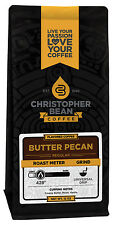 Christopher Bean Coffee BUTTER PECAN Flavored Coffee 1-12-Oz Bag