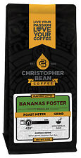 Christopher Bean Coffee Bananas Foster Flavored Coffee 1-12-Oz Bag