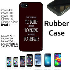 Trust Takes Years To Build Quote For iPhone 4/4S/5/5S/5C/6/6+Galaxy S4/S5-RUBBER