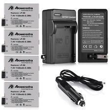 Full Decoded Battery Pack LP-E8 For Canon Rebel T2i T3i T4i T5i Camera + Charger