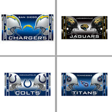 "Choose Your NFL Team Clashing Helmets 30 x 60"" Cotton Fiber Reactive Beach Towel"