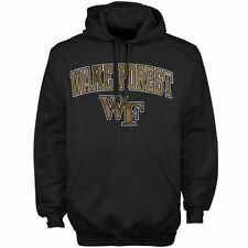 Wake Forest Demon Deacons Arch Over Logo Hoodie - Black - College