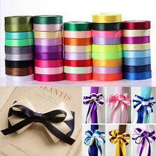 25 Yards/22 Metres of Satin Ribbon 15mm in Multiple Colors Wedding Craft Sewing