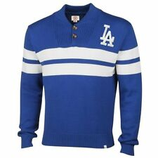 Los Angeles Dodgers '47 Brand Tradition Sweater - Royal Blue - MLB