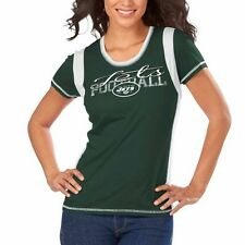 New York Jets Majestic Women's Pride Playing V T-Shirt - Green - NFL
