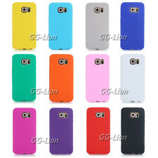 Gel Rubber soft Silicone Case Skin Cover for Samsung Galaxy S6, SM- G920